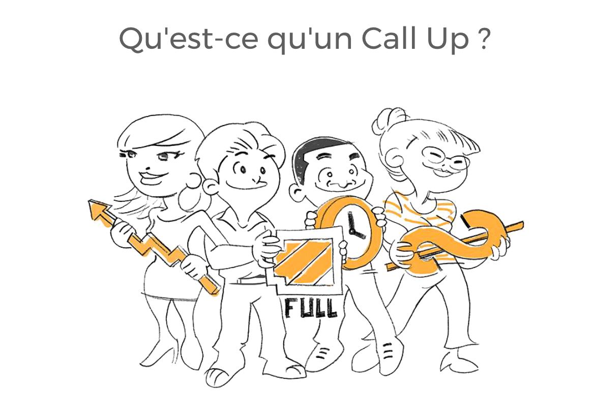 Inscrivez vous pour la Beta de notre premier projet Call Up !