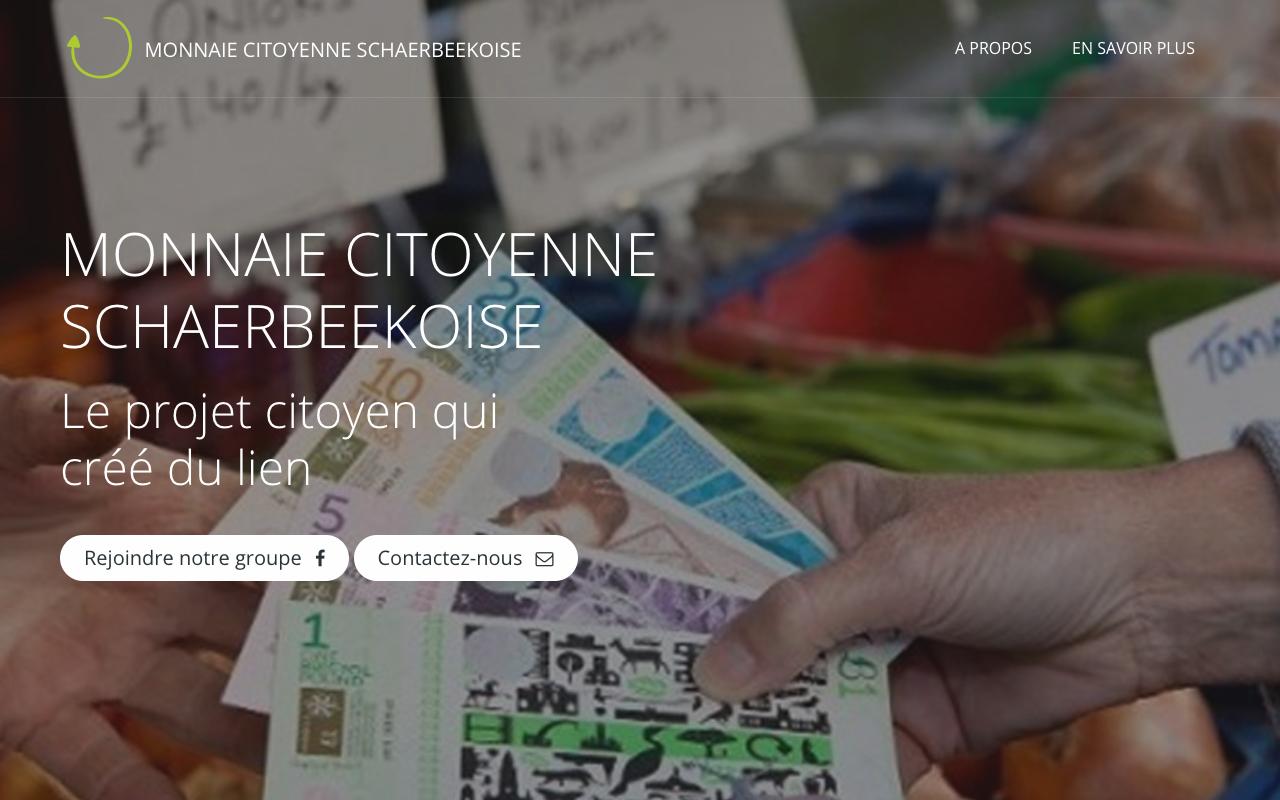 Nouveau site pour la monnaie Locale Bruxelloise !