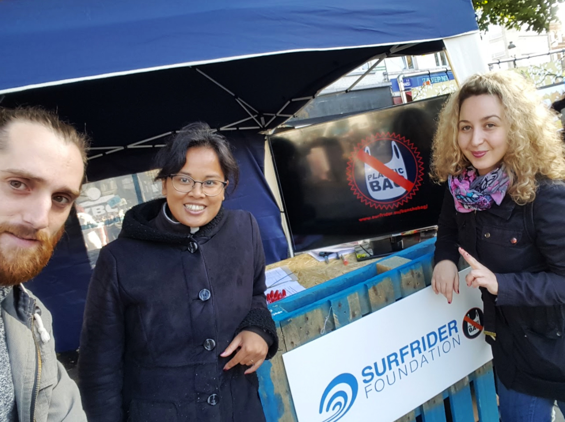 Ban the Bag, un co-lab avec Surf Rider et la commune de Schaerbeek !