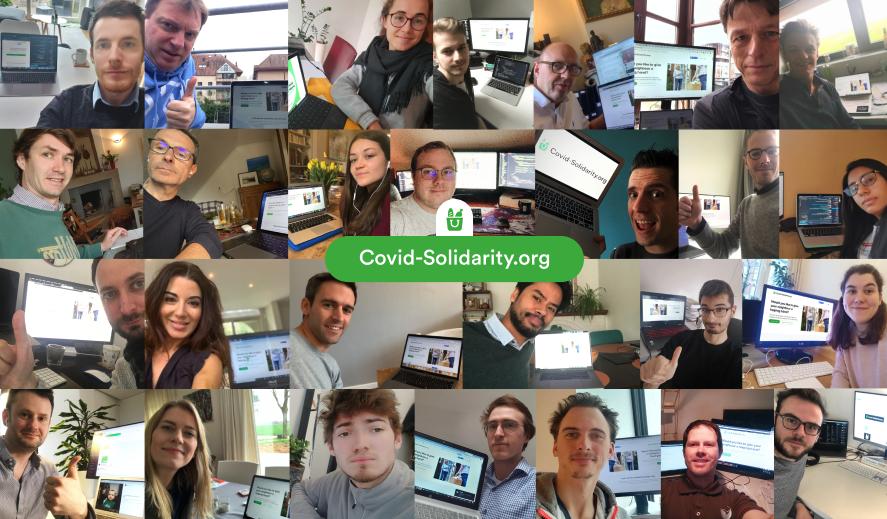 Covid Solidarity : la solidarité commence entre voisins !